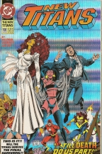 The New Teen Titans #9 1993 Annual DC Comics Hand Witcover Davis