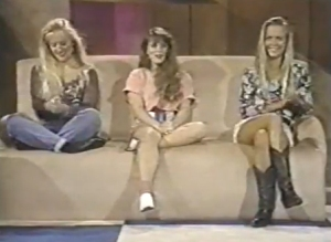 Female contestants on Studs, which represent a good cross-section of early 1990s women's fashion, especially among Generation X.