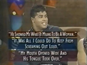 An example of the infamous multiple choice section of an episode of Studs.  Your tongue takes over and then you party all night long, right?