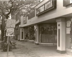 Sayville Pizza on Main Street in Sayville, October 1996.