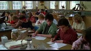 Final exams at Ridgemont High, circa 1983.