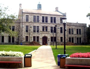 Beatty Hall at Loyola University Maryland (formerly Loyola College in Maryland).  I took quite a number of political science classes in this building.