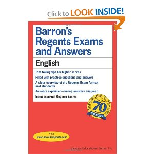 A Barron's Regents review book, courtesy of Amazon.com