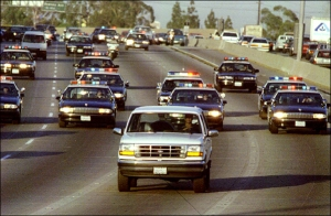 The infamous Bronco Chase.