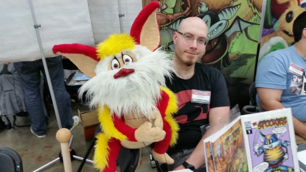 Not cosplay per se, but it's always cool to see Snarf.