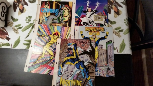 Who's Who entries signed by Dan Jurgens, Brian Stelfreeze, and Jose Luis Garcia-Lopez.
