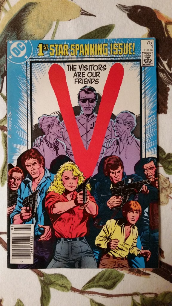 V: The Comic Book.  Best 50 cents I spent.