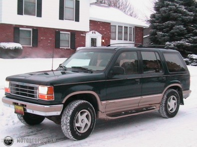 The 1994 Ford Explorer Eddie Bauer edition.  Image from Motortopia.