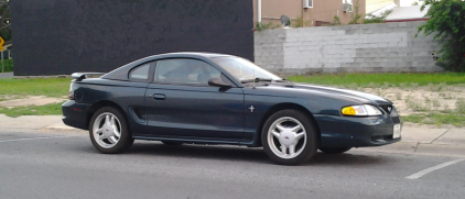 The redesigned 1994 Ford Mustang.  Image courtesy of Wikipedia.