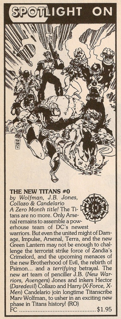 ZM Solicits - New Titans #0