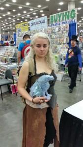 Danaerys Targaryen cosplay.