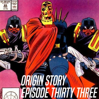 Origin Story Episode 33 Website Cover