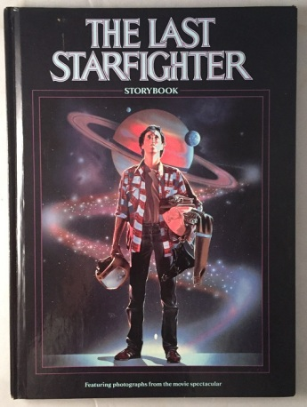 Last Starfighter Storybook