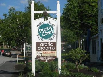 Arctic Dreams Sign