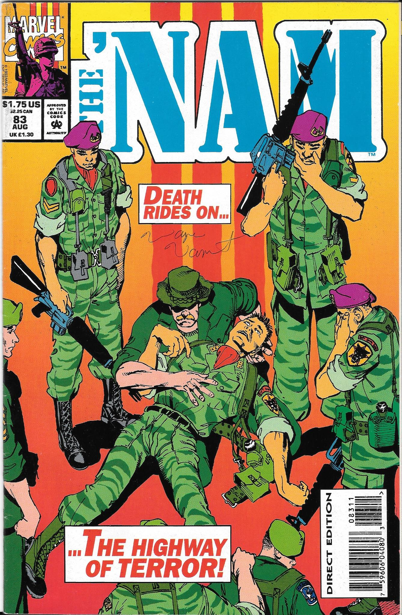 Nam 83 signed cover