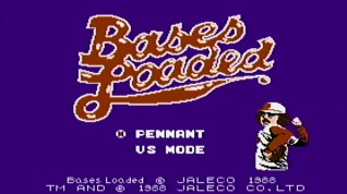Bases Loaded Opening Screen